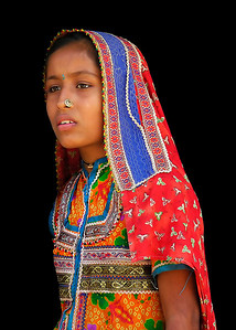 MEGHWAL GIRL - KUTCH, INDIA