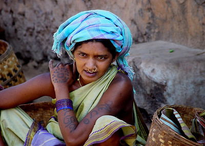 MALI LADY - ORISSA, INDIA