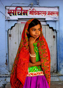 AHIR GIRL - KUTCH, INDIA
