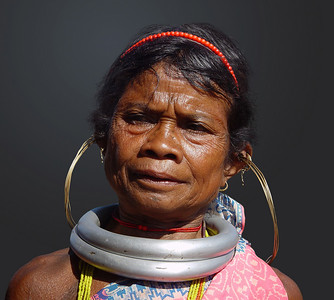 GADABA LADY - ORISSA, INDIA