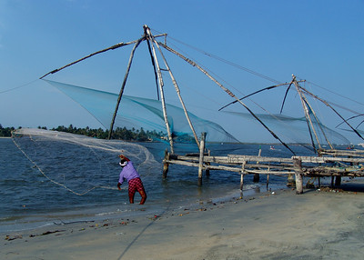CHINESE FISHING NETS - COCHIN, INDIA