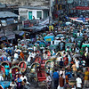 RICKSHAW CHAOS - DHAKA, BANGLADESH