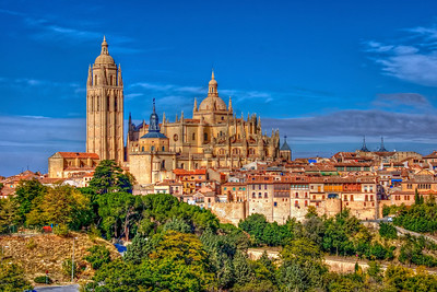 SEGOVIA CITYSCAPE - SPAIN