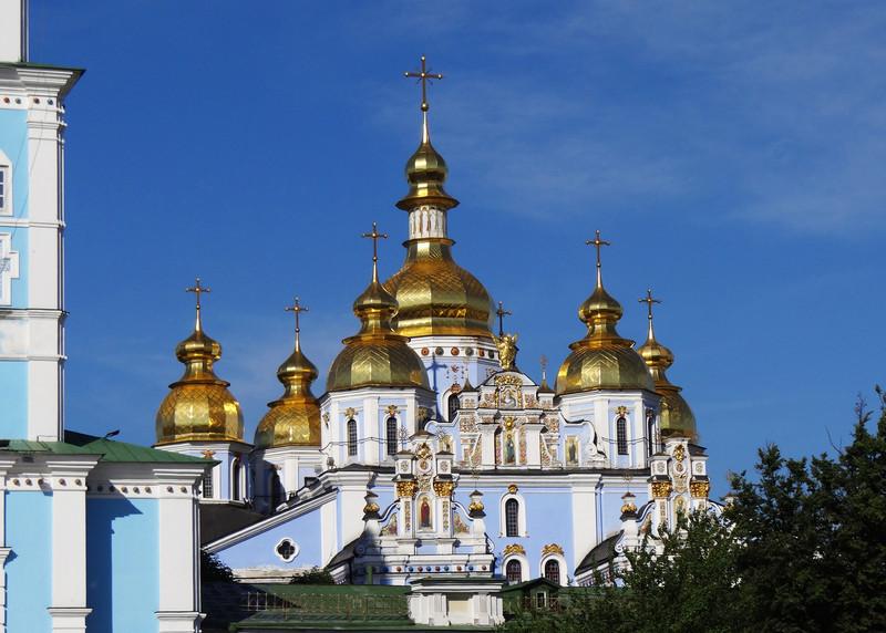 ST MICHAEL'S MONASTERY - KIEV, UKRAINE