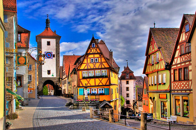 ROTHENBURG OB DER TAUBER - BAVARIA, GERMANY