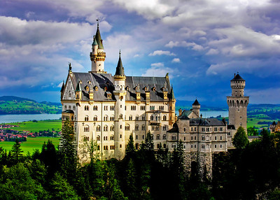 NEUSCHWANSTEIN CASTLE - BAVARIA, GERMANY