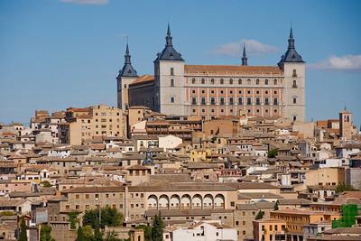 THE ALCAZAR - TOLEDO, SPAIN