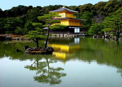 KINKAKUJI TEMPLE - KYOTO, JAPAN
