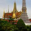 TEMPLE OF THE EMERALD BUDDHA - BANGKOK, THAILAND