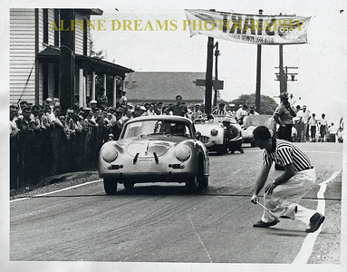 I just threw this one in to get your attention.  This is titled  OLD Porsche Race.  The car in front was driven by a friend of mines's Dad and it took place in Wilkes Barre Pa  a long time ago.
