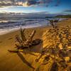 GOLDEN BEACH-END OF DAY