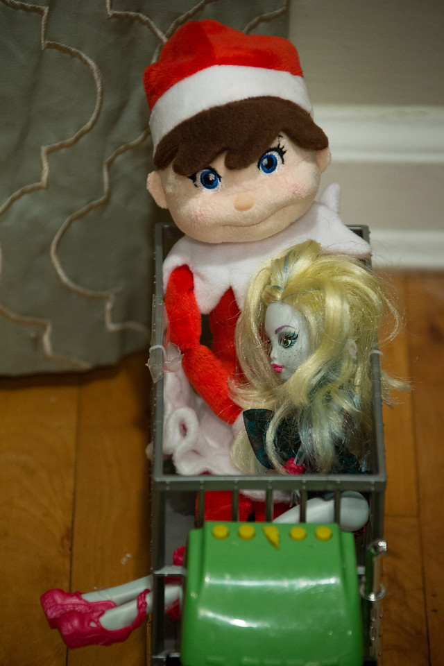 Elf with Monster High