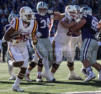 K-State football against Iowa State at Bill Snyder Family Stadium on Nov. 25, 2017. (Alanoud Alanazi | Collegian Media Group)