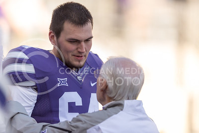Football game against Iowa State at Bill Snyder Family Stadium on Nov. 25, 2017. (George Walker | Collegian Media Group)
