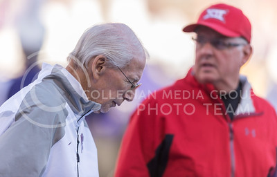 Bill Snyder during the football game against Iowa State at Bill Snyder Family Stadium on Nov. 25, 2017. (George Walker | Collegian Media Group)