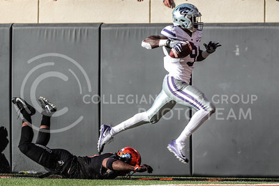 Kansas State University plays Oklahoma State University in Football at Boone Pickens Stadium in Stillwater, Oklahoma on November 18, 2017. ( Photo by Cooper Kinley | K-State Athletics)