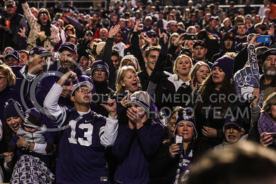 Kansas State University plays Oklahoma State University in Football at Boone Pickens Stadium in Stillwater, Oklahoma on November 18, 2017. ( Photo by Cooper Kinley   K-State Athletics)