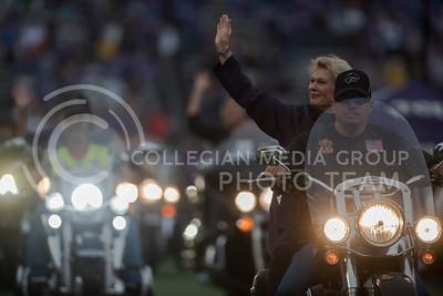Kansas State Wildcats play Texas Christian University Horned Frogs at Bill Snyder Family Stadium on Oct. 14, 2017. (Olivia Bergmeier   Collegian Media Group)