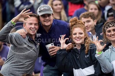 Kansas State Wildcats play Texas Christian University Horned Frogs at Bill Snyder Family Stadium on Oct. 14, 2017. (Olivia Bergmeier | Collegian Media Group)