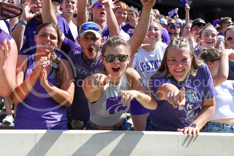 K-State fans at the September 18, 2021 game against the University of Nevada.