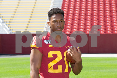 Scene from Iowa State Football Media Day on August 1, 2019 at Jack Trice Stadium in Ames, Iowa. Photo © Wesley Winterink.
