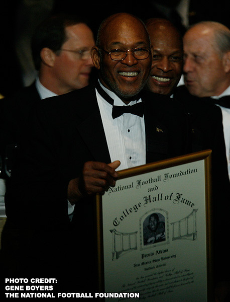 Pervis Atkins College Football Hall of Fame Induction - 2009