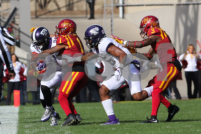 Image from NCAA Football game between TCU and Iowa State on October 3, 2017. Photo © Wesley Winterink.