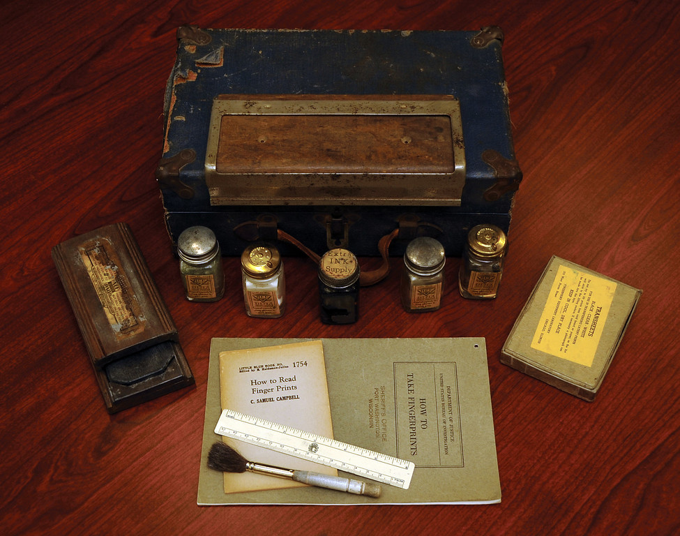 . A look at a fingerprinting kit dating back to the 1930s. In 1999 the Criminal Justice Information Services Division of the FBI started logging fingerprints in the Integrated Automated Fringerprint Identification System (IAFIS).