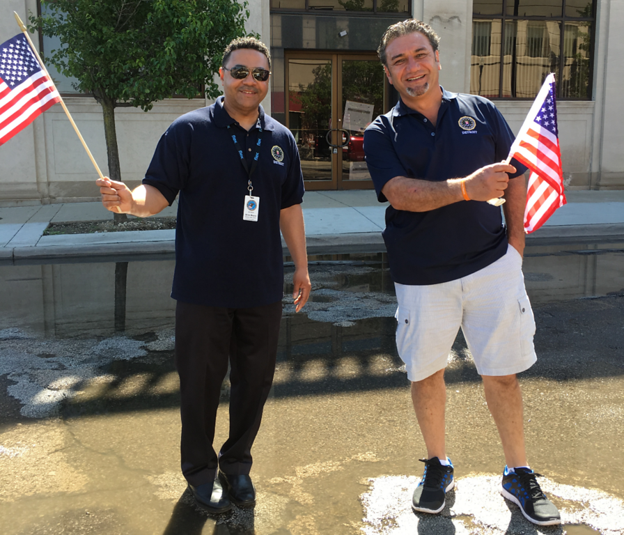 . FBI Detroit Citizens Academy Alumni Association are engaged in a number of activities that support the FBI. Shown here are members who attended this year\'s Memorial Day Parade.