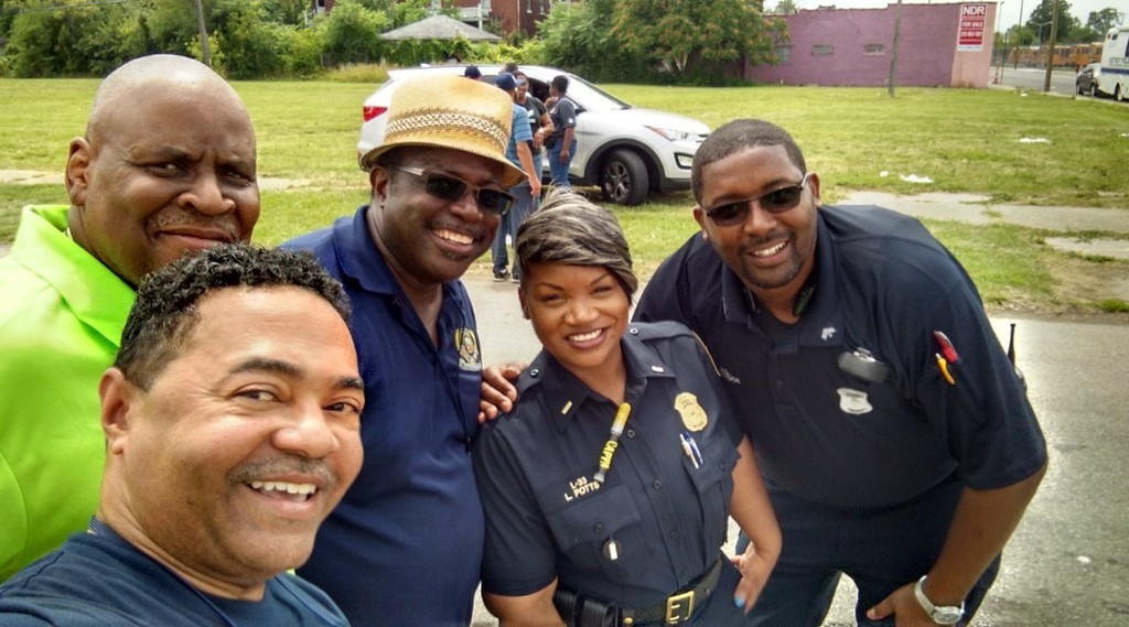 . Many graduates of the FBI Detroit Citizens Academy join the alumni association, which supports the work of the FBI with a variety of outreach events such as this block party in Detroit.