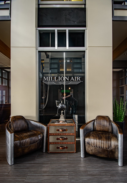 Lobby at Million Air