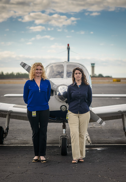 Faith and Lacey from Florida Aviation