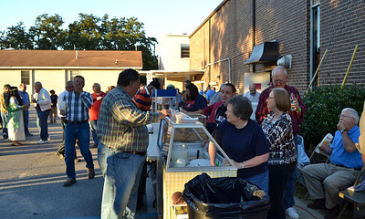 Fall Festival workers fueling up