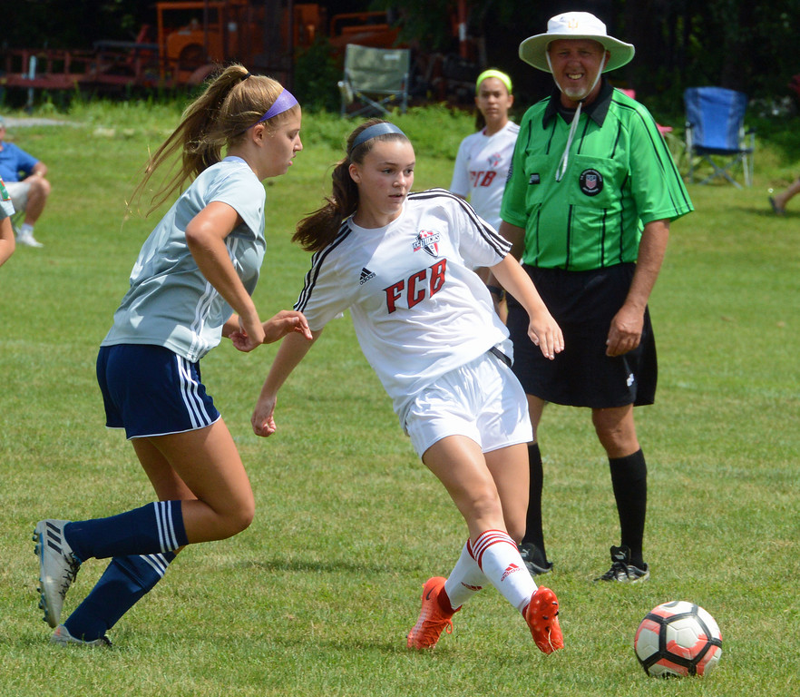 . Carly Gross controls Rampage offense.