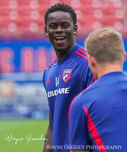Dominique Badji | FC Dallas photo by Wayne Gooden