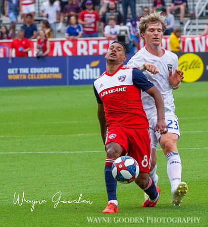 Bryan Acosta | FC Dallas | 8 | - Photo by Wayne Gooden