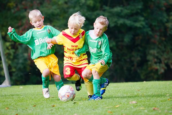 12/10/2013: St. Wetteren - FC Edeboys
