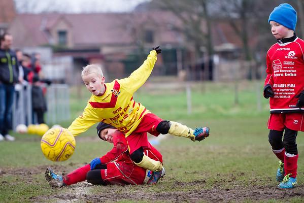 25/01/2014: Berlare A - FC Edeboys