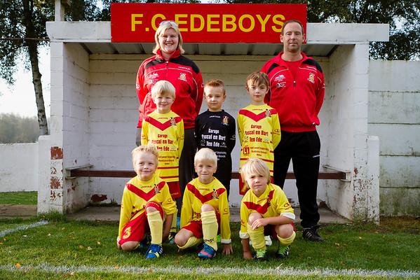 FC Edeboys U7 2013-2014 Official team foto's