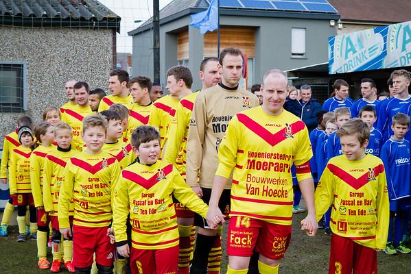 01/03/2015: Serskamp Schellebelle - Eerste Elftal KFC Edeboys