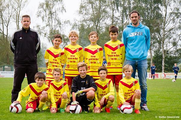 2014-2015 KFC Edeboys jeugd - Official team foto's