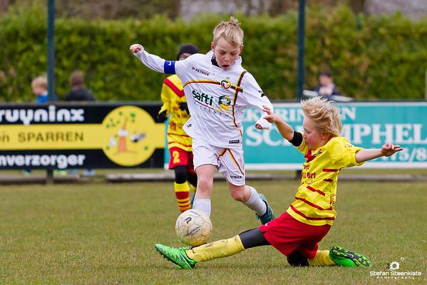19/03/2016: Racing Wetteren-Kwatrecht - KFC Edeboys