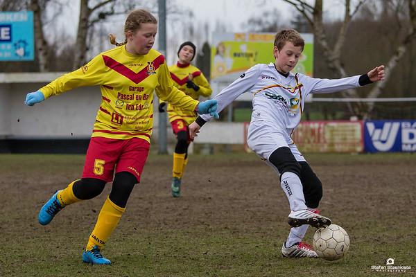 04/03/2017: R5 KFC Edeboys - FC Wetteren B