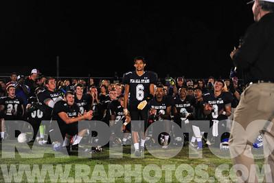June 7th, 2014 - Paso Robles, CA. Fellowship of Christian Athletes All Star football game. Mandatory Credit - Ray Ambler - RAPhotos.com