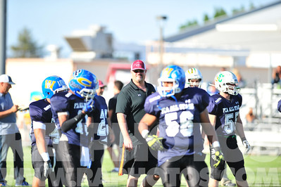 June 7th, 2014 - Paso Robles, CA. Fellowship of Christian Athletes All Star football game. Mandatory Credit - Ray Ambler - RAPhotos.com