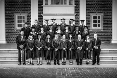 The 2015 graduating class of Founders Classical Academy of Lewisville
