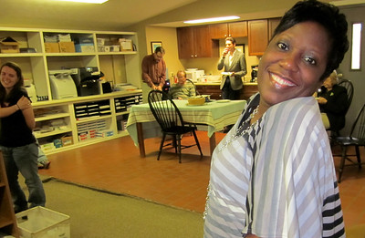 Sharon Tarver, birthday girl. Jan. 23, 2012.