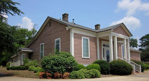 07-08-2011: Fuller Center headquarters in Americus, Ga. Chris Johnson photo.