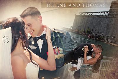 Jolene and Thomas