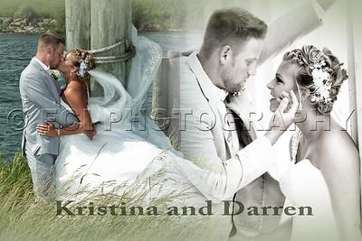 Kristina and Darren's wedding